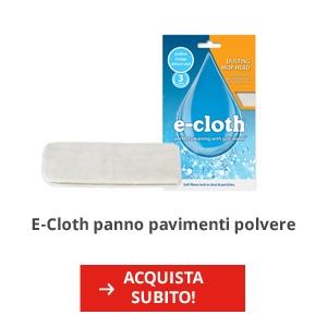 E-Cloth panno pavimenti polvere