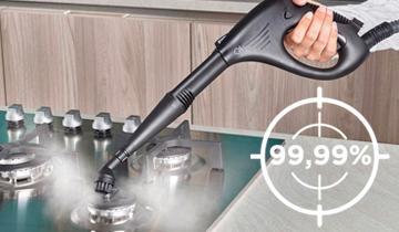 Vaporetto Smart 30_R germi e batteri