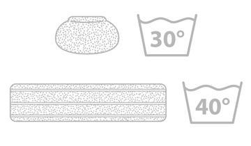 Kit 2 panni + 3 cuffie Vaporetto PAEU0324