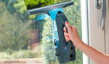 Forzaspira AG 130 window cleaner - Excellent operating time