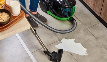 Forzaspira Lecologico Allergy_Turbo - Spazzola per sporco secco e per liquidi