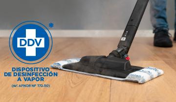 Polti Vaporetto MV 40.20: Efficacia disinfettante anche contro il virus SARS-CoV-2