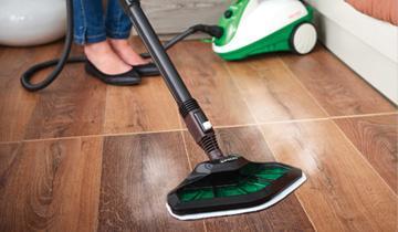 Vaporetto Smart 35_Mop pavimenti igienizzati