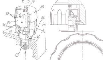 Vaporella 505 Pro - Tecnologia tappo di sicurezza